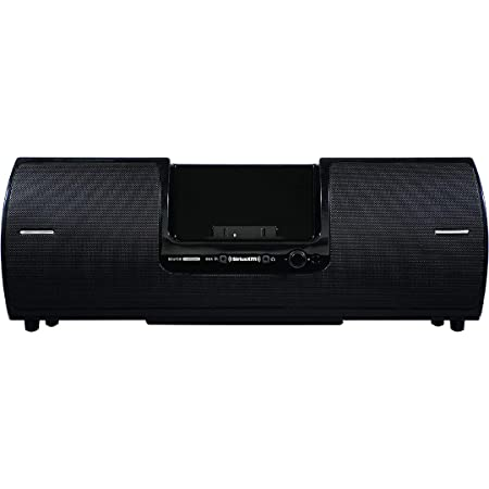 SiriusXM SXSD2 Portable Speaker Dock Audio System for Dock and Play Radios (Black)