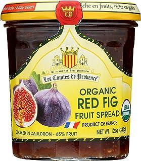 Fig Spread USDA Organic Preserve – 12 oz/ 340 gr – Made in France Traditional Jam Non GMO Gluten Free