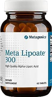Metagenics Meta Lipoate® 300 – High-Quality Alpha-Lipoic Acid – 60 servings