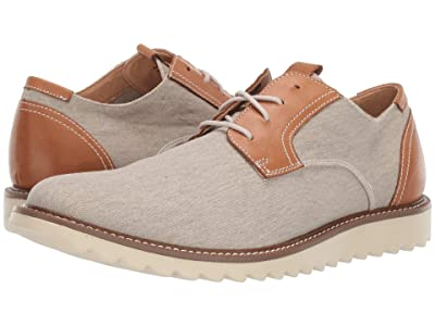 Dockers Edison Smart Series Dress Casual Canvas Oxford with NeverWet (Sand) Men