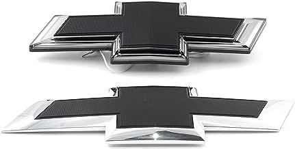 OEM NEW Illuminated Bow Tie Emblem Kit Front Rear Black 2017 Silverado 84129741