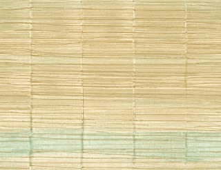 Striped Gold Wallpaper Cream Green Vertical Lined Wallcover Ombre Modern Design