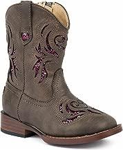 ROPER Toddler-Girls' Glitter Breeze Cowgirl Boot Square Toe