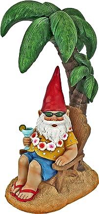 Garden Gnome Statue Funny Lawn Gnome Statues Digger the Gnome Outdoor Garden Gnomes