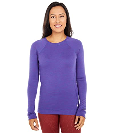 Smartwool Merino 250 Base Layer Crew (Desert Orchid Heather) Women