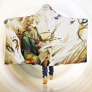 "AJ WALLPAPER 3D Natsume 146 Hooded Blanket Cloak Japan Anime Japanese Cosplay Game US Onion (M: 150x130cm(59""x51""))"