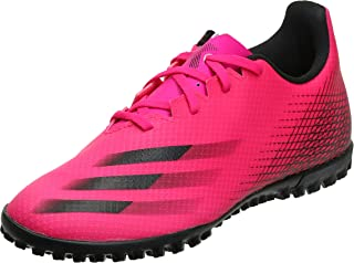 adidas X Ghosted.4 TF Lace-Up Two-Tone Football Shoes for Men 42 2/3 EU