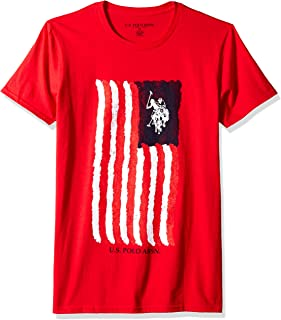 U.S. Polo Assn. Mens 11-4498-04 Short Sleeve Crew Neck Fashion T-Shirt Short Sleeve T-Shirt