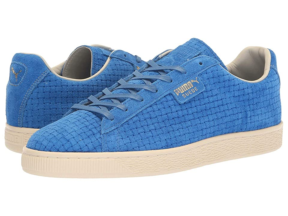 PUMA Puma x Naturel Clyde Woven Suede Sneaker (Blue) Lace up casual Shoes