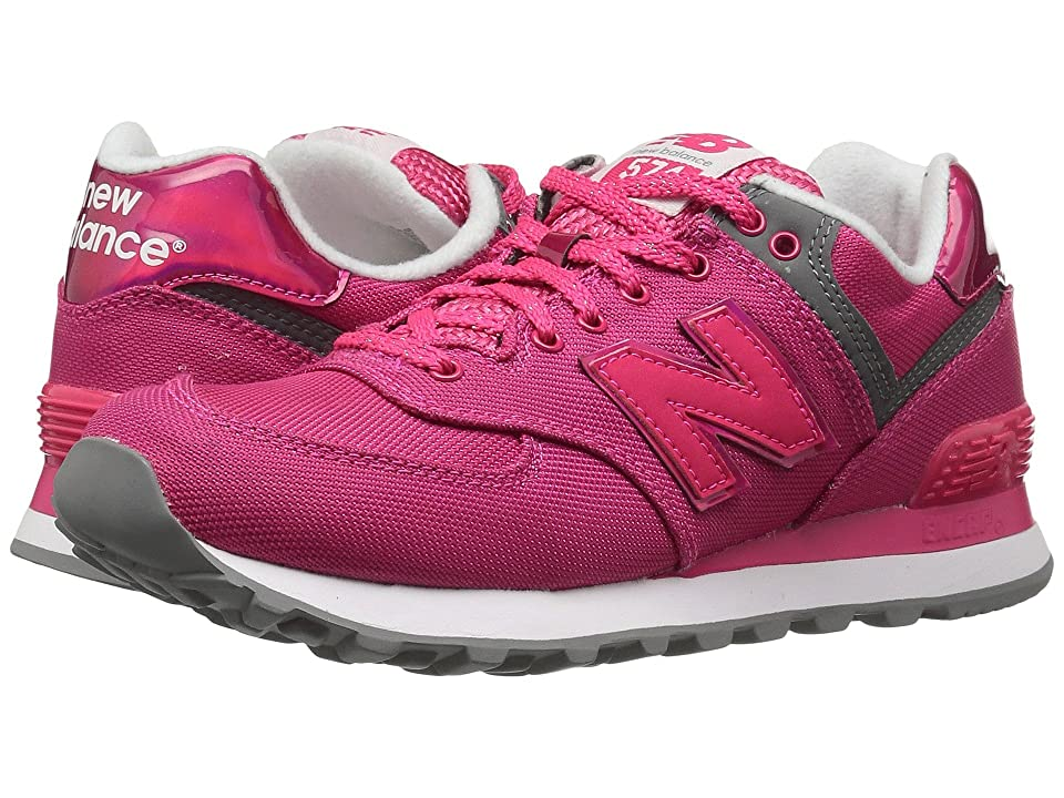 New Balance Classics WL574v1 (Pomegranate/Pomegranate) Women