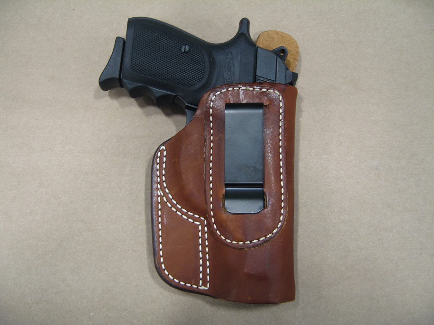 Browning BDA .380 IWB Molded Leather Inside Waist Concealed Carry Holster TAN RH
