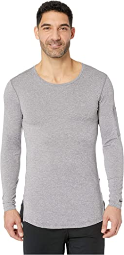 Top Long Sleeve Fitted Utility