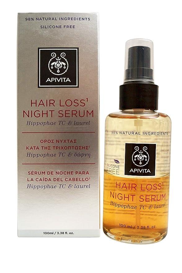 パキスタン裏切りビタミンアピヴィータ Hair Loss Night Serum with Hippophae TC & Laurel 100ml [並行輸入品]