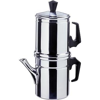 Zuiver Cafetera Italiana, Plateado, 6 Tazas: Amazon.es: Hogar