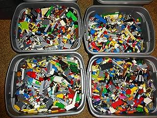 LEGO 2 POUNDS Bulk Lot Bricks Parts Pieces 100% Brand