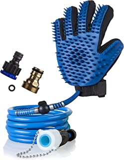 Dog Washing Glove - Dog Wash Hose Attachment - Dog Shower Attachment - Dog Shower Sprayer - Dog Bath Hose Dogs Accessories - Pet Bathing Tool Dog Bathing Supplies - Pet Shower Sprayer for Bathtub