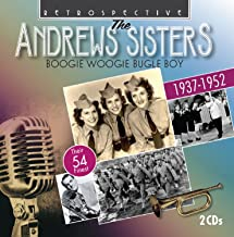 The Andrew Sisters : Boogie Woogie Bugle Boy - Their 54 Finest.