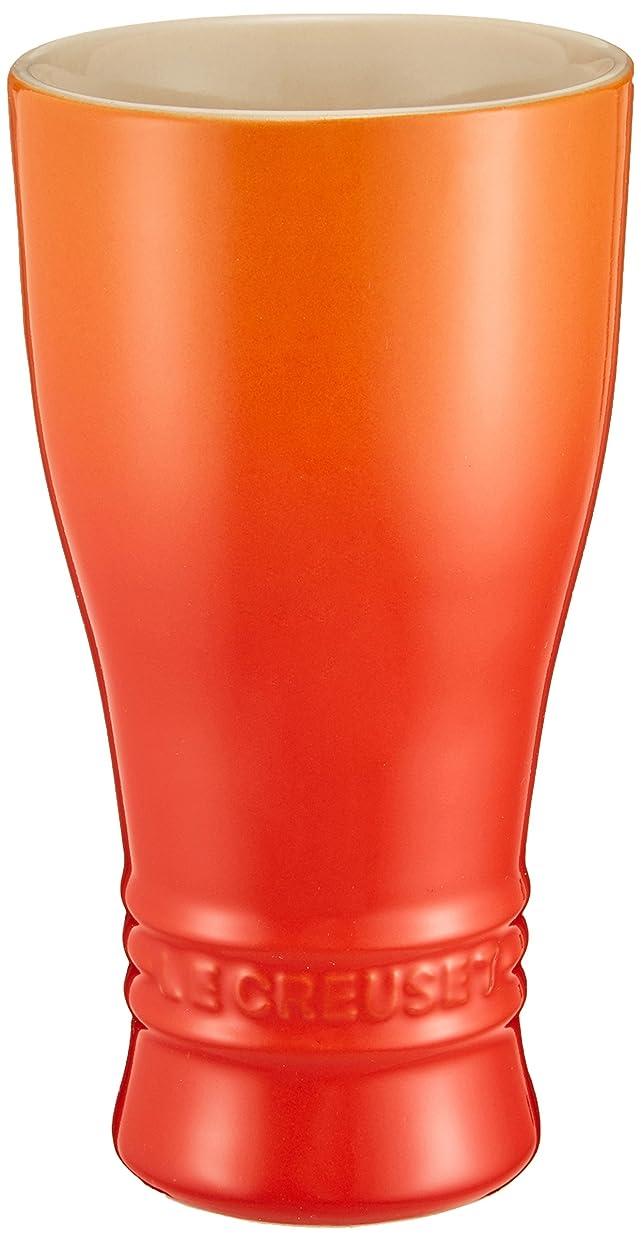 ピンチ頼るガスルクルーゼ タンブラー ビアマグ オレンジ 250ml   910612-02-09
