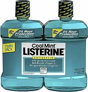 محصول دهانشویه ضد عفونی کننده Listerine Cool Mint، 2 عدد. / 1.5 لیتر - شستشوی دهان
