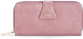 Lavie Halley Zip Around Bi Fold Women's Wallet(Dk Pink)