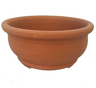 Maceta Bonsai 25 x 12cm. - Maceta Bonsai con Patas - Maceta Bonsai Cerámica - Maceta Bonsai Barro - (Envíos sólo a Península)