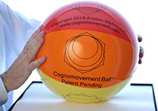 Cognomovement Ball 16 Inch + 1-Year Subscription | Physical & Mental Exercise Ball | Promotes Healthy Eating - Managing Stress Caused Emotional Eating | Enhance Mental Acuity and Problem Solving