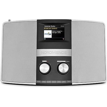 Nordmende Transita 400 Internetradio Dab Ukw Stereo Radio W Lan Spotify Connect Bluetooth Audiostreaming Nfc Farbdisplay Wecker Kopfhöreranschluss 2 X 10 Watt Aux In Schwarz Silber Heimkino Tv Video