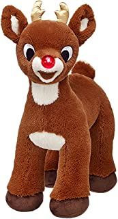 Build a Bear Workshop Rudolph Red Nosed Reindeer 50th Golden Anniversary Limited Edition 15 in. Stuffed Plush Toy Animal