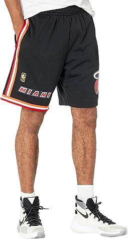 NBA Swingman Road Shorts Heat 96-97