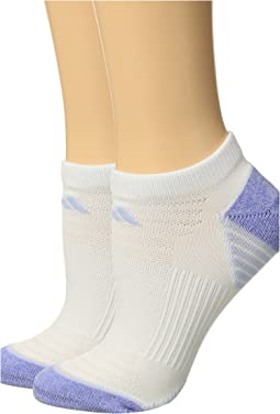 Superlite Speed Mesh No Show Socks 2-Pack