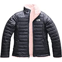 e195b5f166f5 The North Face Girl  39 s Reversible Mossbud Swirl Jacket