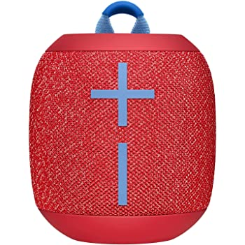 Logitech Ultimate Ears WONDERBOOM 2 Portable Waterproof Bluetooth Speaker - Wireless Boom Box - Non Retail Packaging (Radical Red)