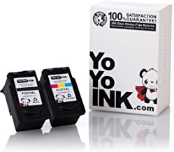 YoYoInk Remanufactured Ink Cartridges Replacement for Canon PG210XL CL211XL High Yield (1 Black, 1 Color; 2 Pack)