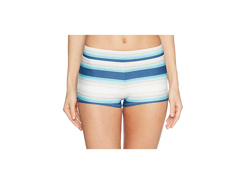 Carve Designs Isla Boy Bottom (Playa Stripe) Women