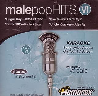 Male Pop Hits VI - Sugar Ray, Blink 182, Eve 6, Uncle Kracker (Karaoke CD+G)