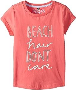 Beach Hair Don't Care Jersey T-Shirt (Toddler/Little Kids/Big Kids)