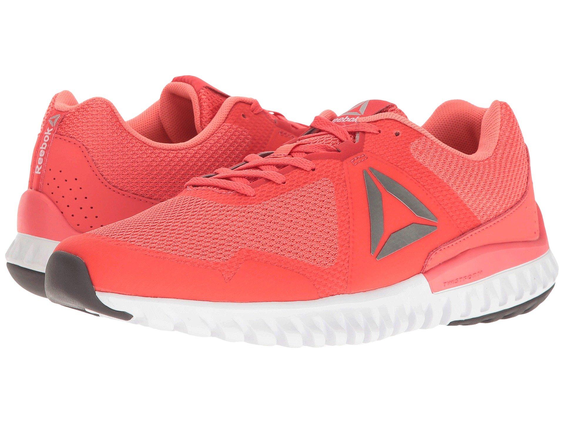acfaf63a732 Reebok Twistform Blaze 3.0 Mtm In Fire Coral Stellar Pink White Ash Grey