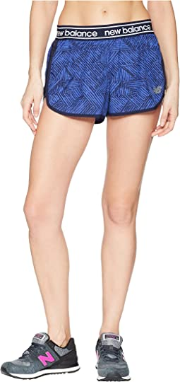 New Balance - Printed Accelerate 2.5 Shorts