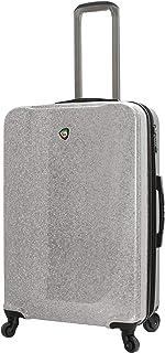 Mia Toro Mia Toro Italy Caglio Hardside 26 Inch Spinner Luggage, Silver (Multi) - M1536-26IN-SLV