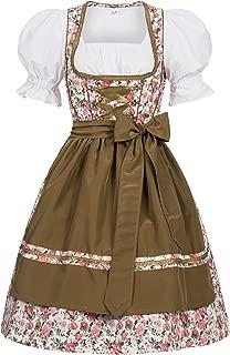 Women's German Dirndl Dress Costumes For Bavarian Oktoberfest Carnival Halloween Josie 40