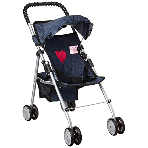 72bdab2a406 My First Doll Stroller Denim for Baby Doll