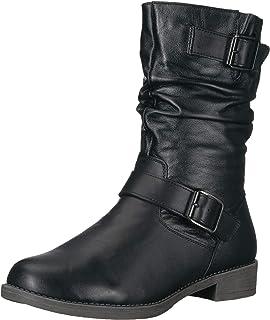 جزمة طويلة حتى منتصف الساق للنساء من Propét, (اسود), 40 EU X-Wide