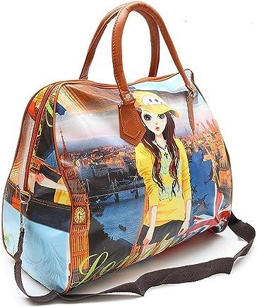 WideWings Women's Digitally Printed Polyester Casual Hand Bag Hobo Handbag Stylish Handbag for Girls & Women(Multi Color)