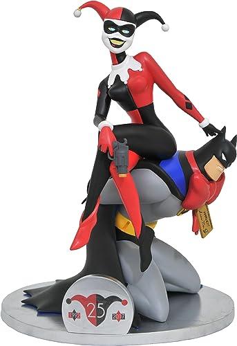 DC Comics- Bathomme La série animée 25e Anniversaire Harley Quinn Deluxe PVC Figure, APR172648