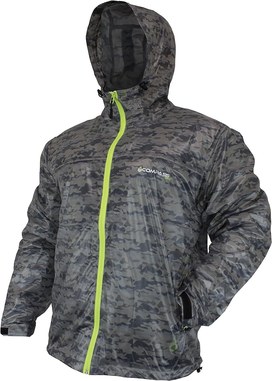 Storm Gray Compass 360 HydroTek Ultra Pack Jacket Large UP22101-1112-LG