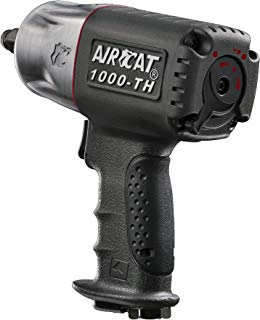 AIRCAT 1000-TH 1/2-Inch Composite Air Impact Wrench With Twin Hammer Mechanism