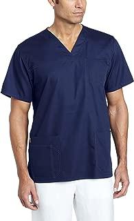 Men's Ripstop Multi-Pocket Scrub Top