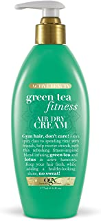 OGX Green Tea Fitness - Crema seca al aire, 6 onzas