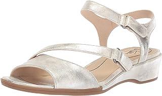 LifeStride Women's Miranda Sandal, Silver, 5 M US
