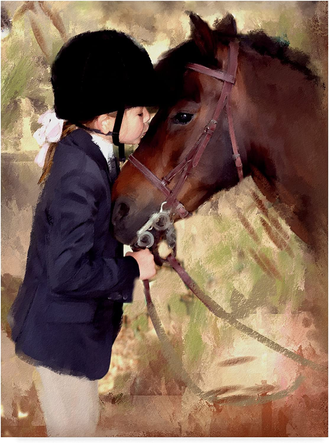 Miss Julia by Sharon Forbes, 14x19Inch